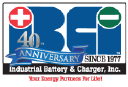 Industrial Battery & Charger - Company Logo